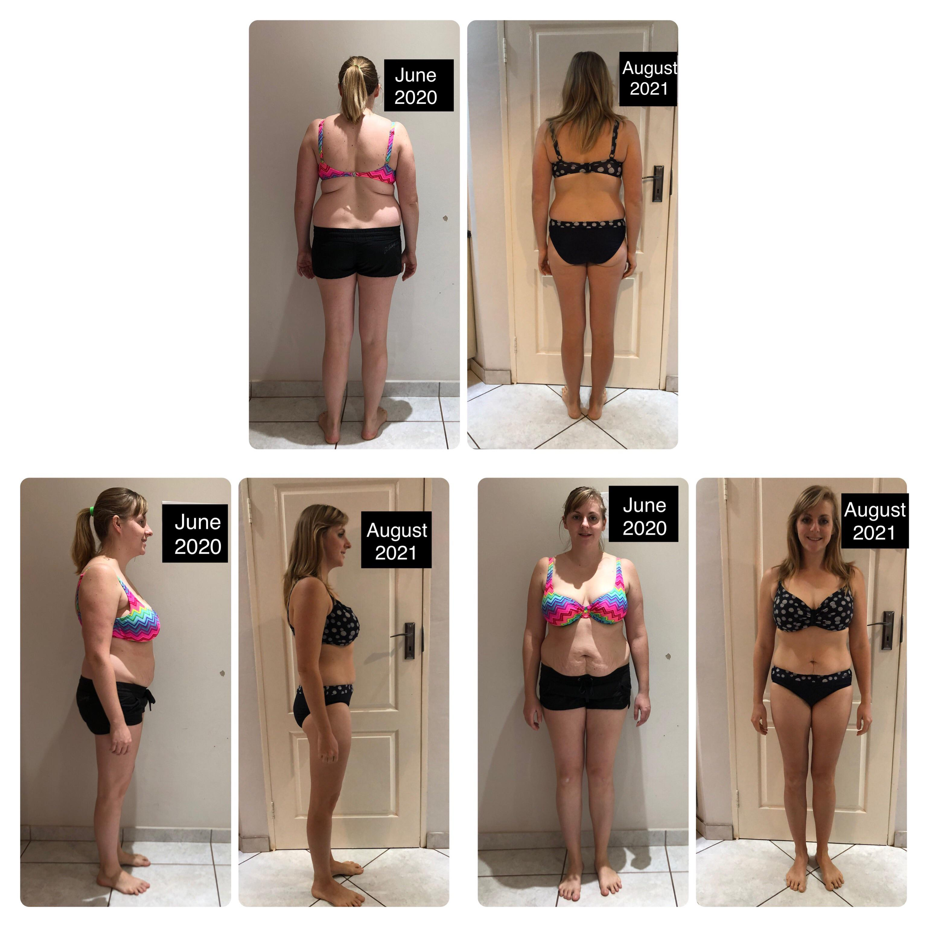 5 foot 7 Female 30 lbs Weight Loss Before and After 175 lbs to 145 lbs