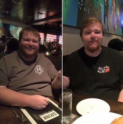 61 lbs Weight Loss 6'1 Male 400 lbs to 339 lbs