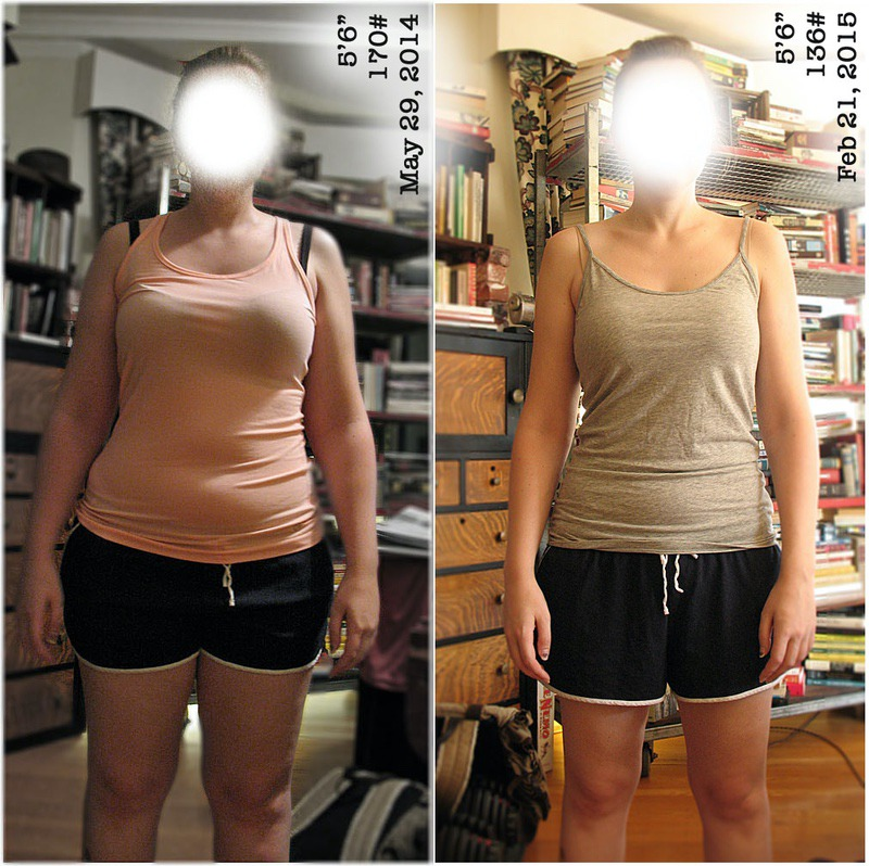 37 lbs Weight Loss Before and After 5 foot 6 Female 173 lbs to 136 lbs