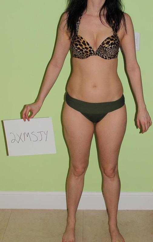 3 Photos of a 120 lbs 5 feet 7 Female Fitness Inspo