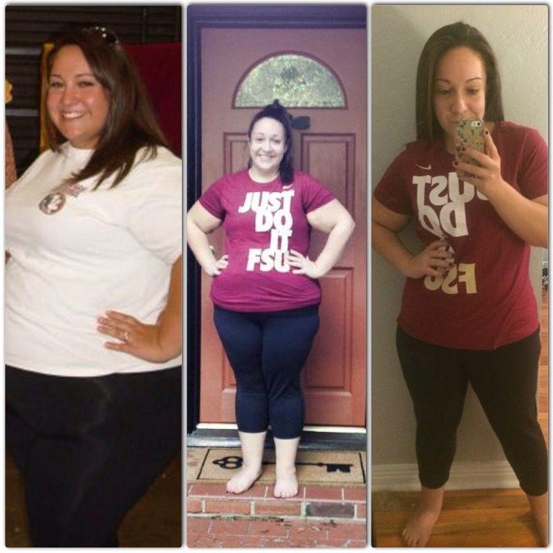 5 feet 2 Female Progress Pics of 100 lbs Weight Loss 330 lbs to 230 lbs