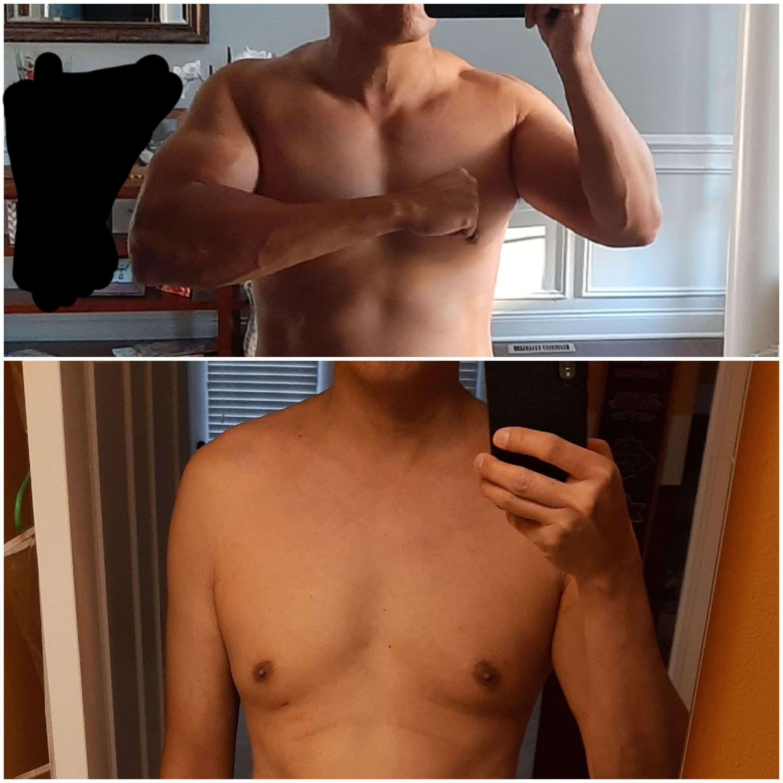 25 lbs Muscle Gain 6'1 Male 155 lbs to 180 lbs
