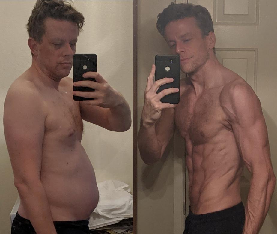 6 foot 2 Male Progress Pics of 42 lbs Weight Loss 209 lbs to 167 lbs