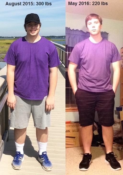 82 lbs Weight Loss 6 feet 3 Male 302 lbs to 220 lbs