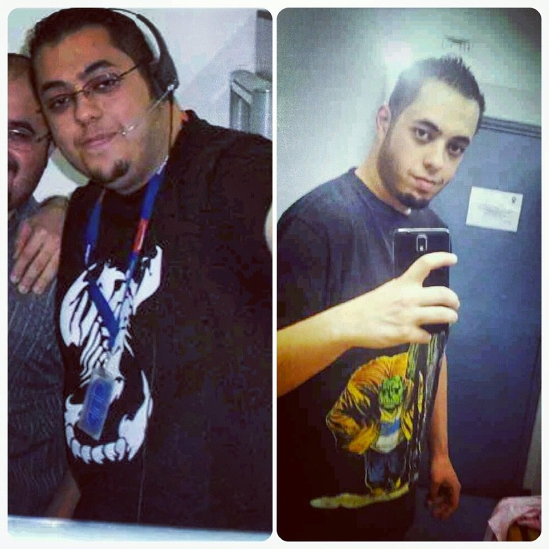 6'2 Male Before and After 112 lbs Weight Loss 335 lbs to 223 lbs