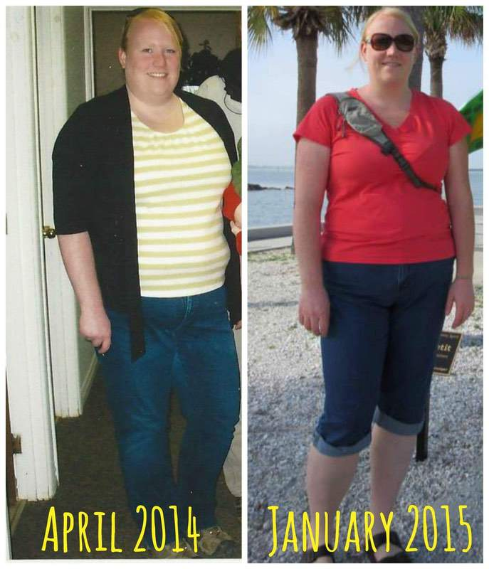 5 feet 10 Female Before and After 65 lbs Fat Loss 306 lbs to 241 lbs