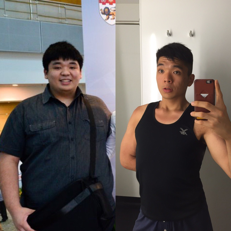 170 lbs Weight Loss Before and After 5 foot 10 Male 350 lbs to 180 lbs
