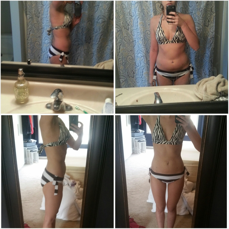 34 lbs Fat Loss Before and After 5 foot 7 Female 160 lbs to 126 lbs
