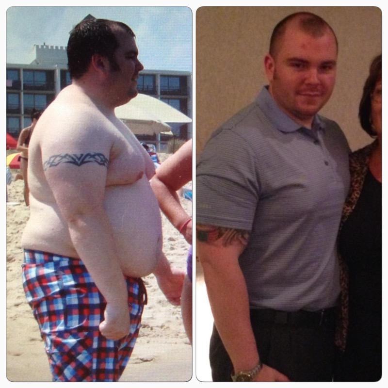 77 lbs Weight Loss 5 foot 11 Male 315 lbs to 238 lbs