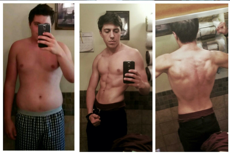 45 lbs Weight Loss Before and After 5'9 Male 185 lbs to 140 lbs