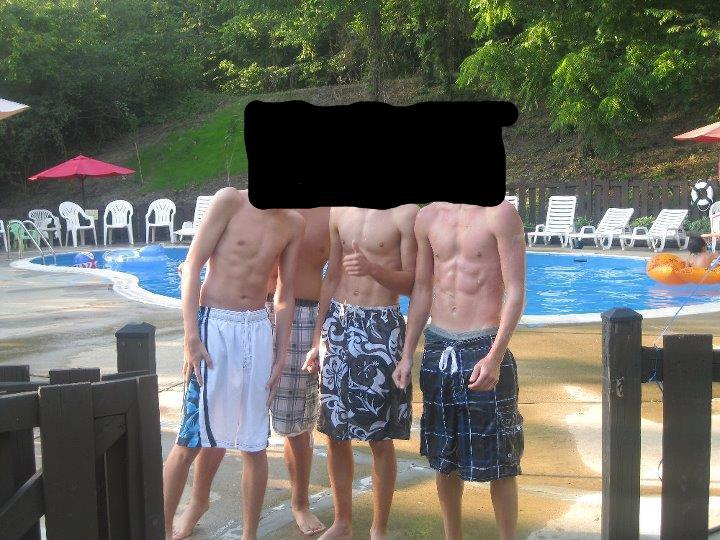 6 foot Male 42 lbs Weight Gain Before and After 138 lbs to 180 lbs