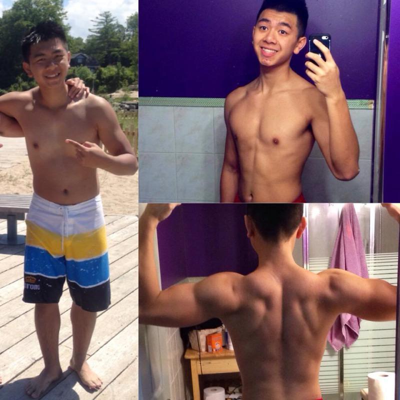 5'9 Male Progress Pics of 7 lbs Fat Loss 165 lbs to 158 lbs
