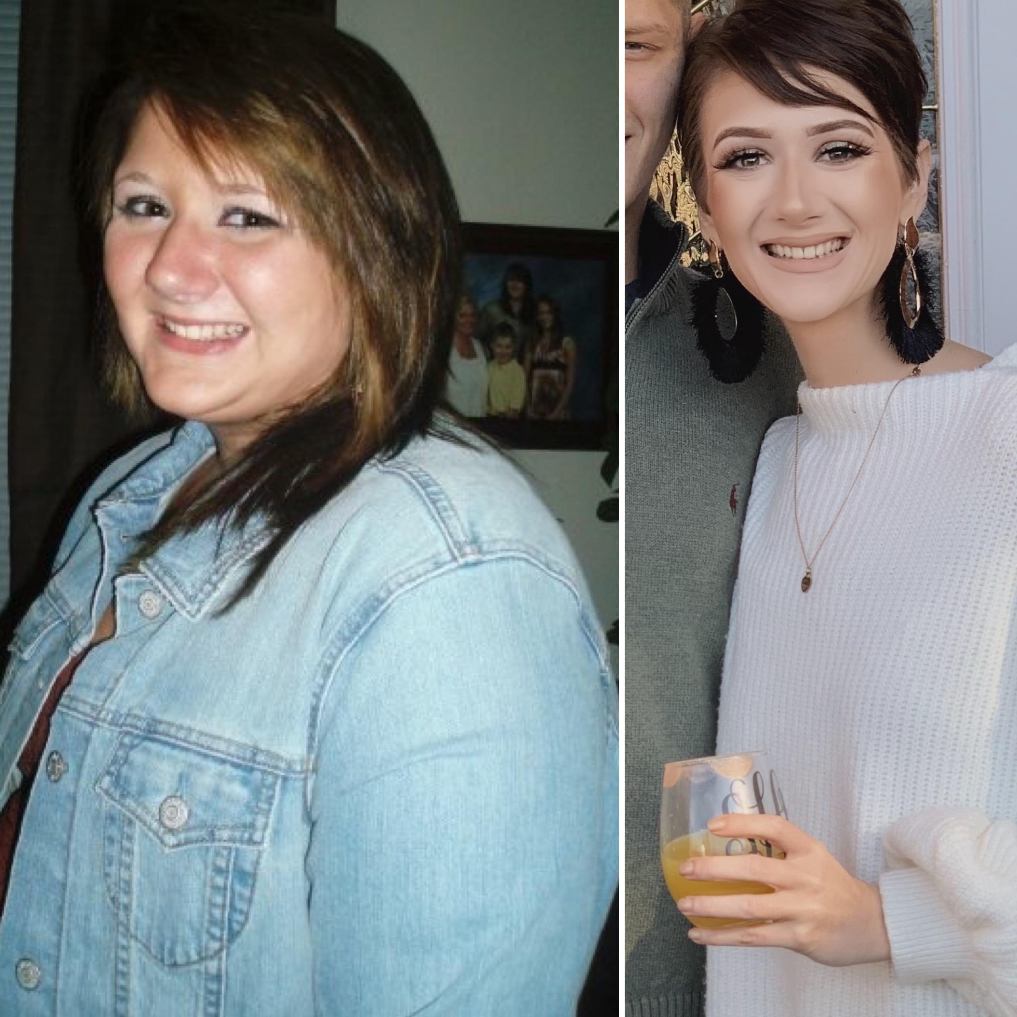 5 feet 7 Female 193 lbs Weight Loss 317 lbs to 124 lbs
