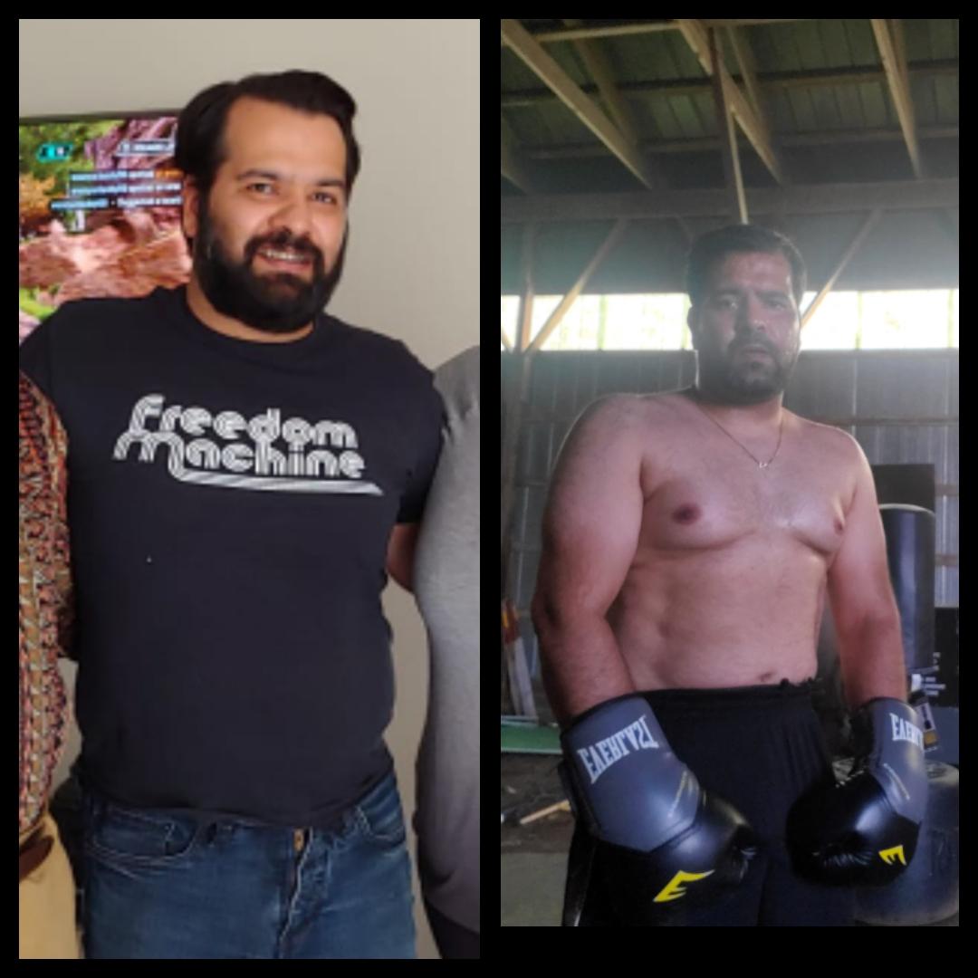 5 feet 8 Male Progress Pics of 11 lbs Weight Loss 220 lbs to 209 lbs