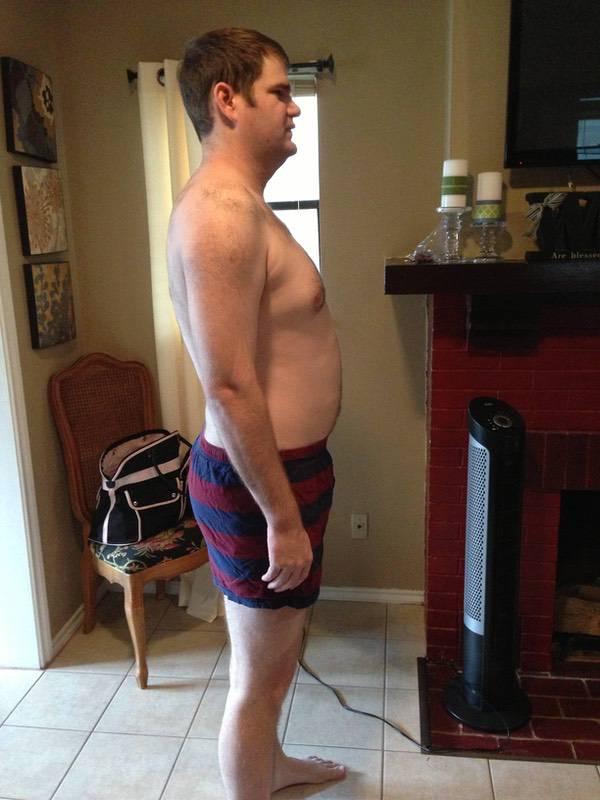 3 Pics of a 228 lbs 6'4 Male Fitness Inspo