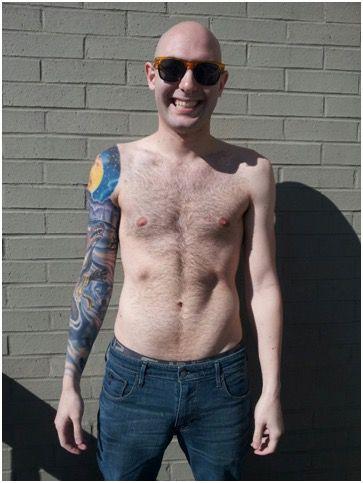 25 lbs Weight Loss 5 foot 9 Male 178 lbs to 153 lbs