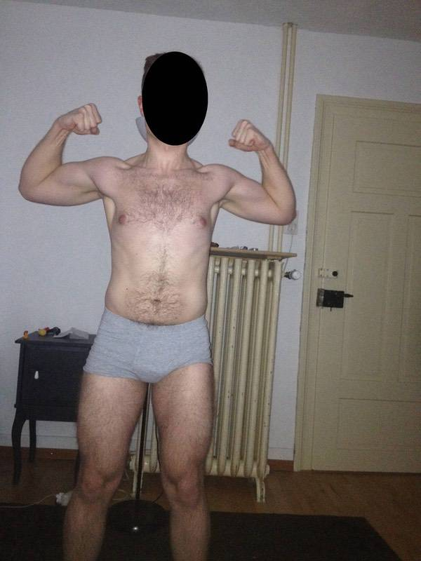 5 Photos of a 5 foot 7 163 lbs Male Weight Snapshot