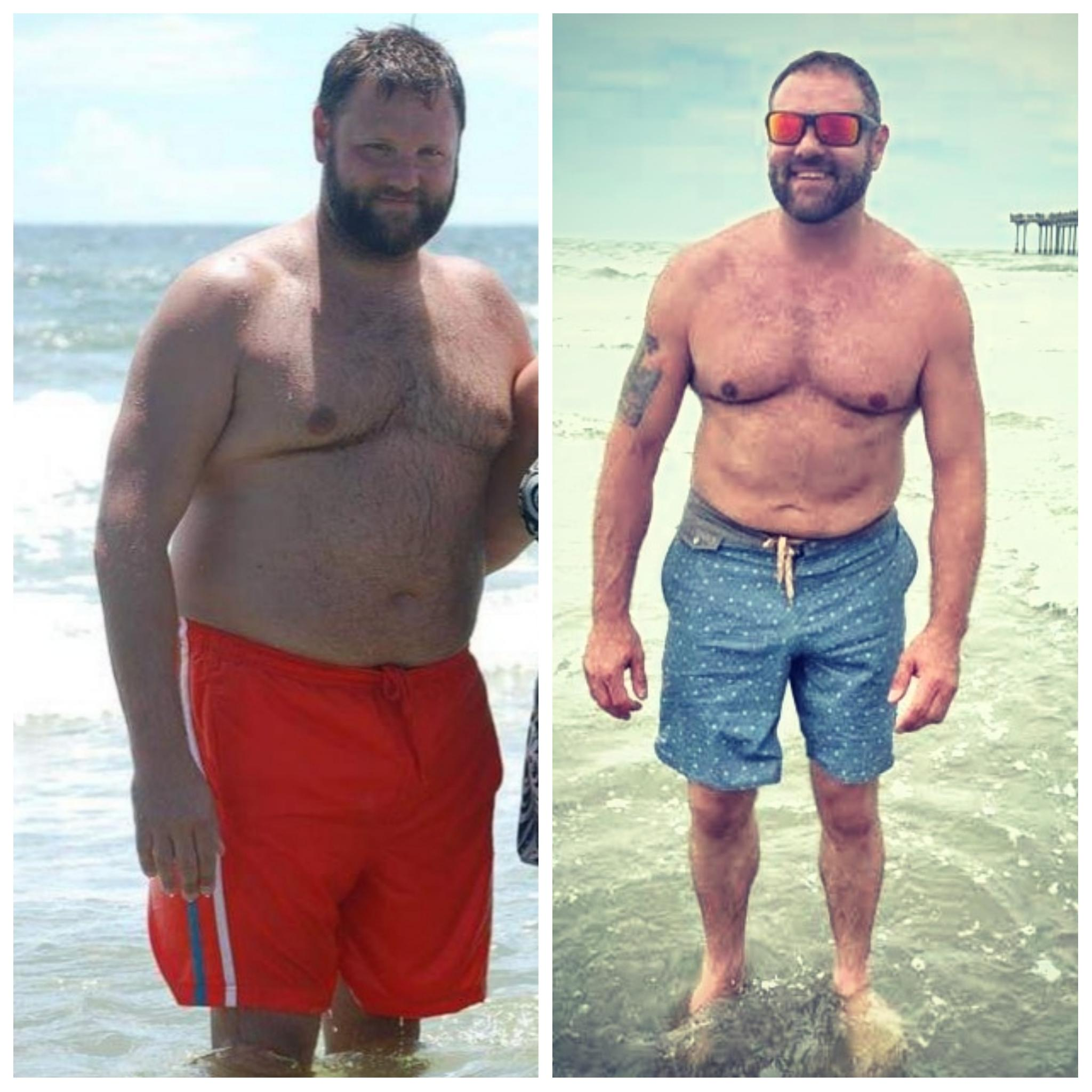 Progress Pics of 50 lbs Weight Loss 5'11 Male 270 lbs to 220 lbs