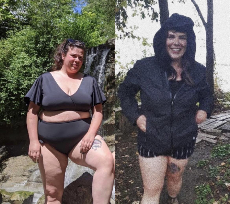 60 lbs Fat Loss 5 feet 6 Female 272 lbs to 212 lbs