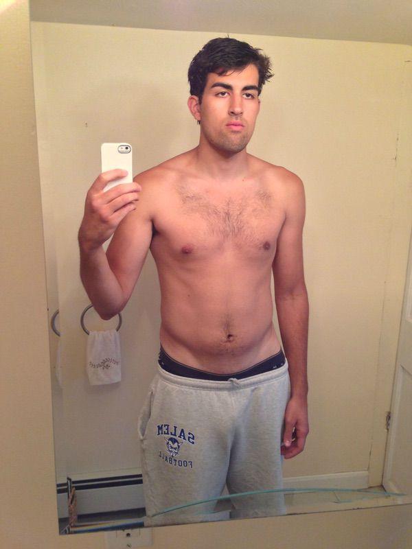 6'2 Male Progress Pics of 12 lbs Muscle Gain 190 lbs to 202 lbs