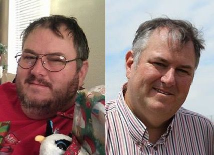 75 lbs Fat Loss Before and After 6 foot 3 Male 398 lbs to 323 lbs