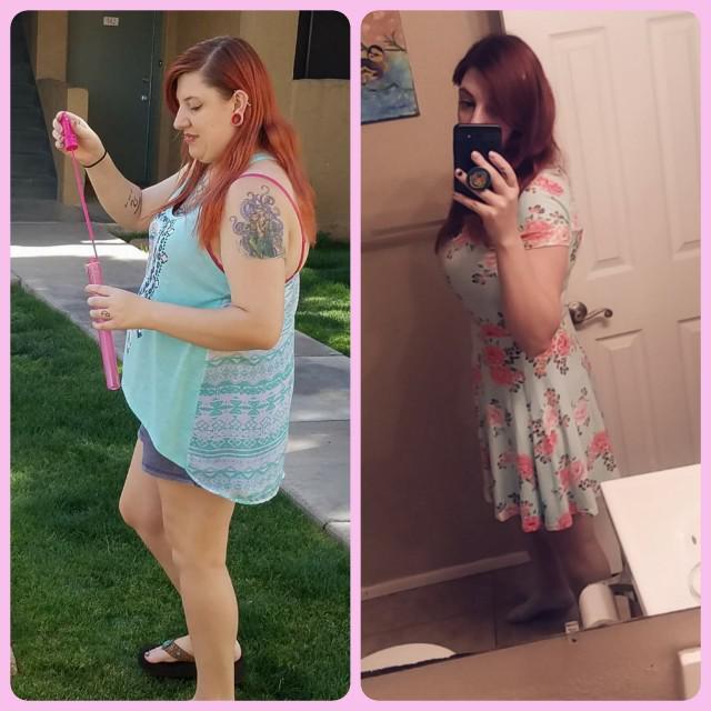 5 foot 4 Female 80 lbs Fat Loss 215 lbs to 135 lbs
