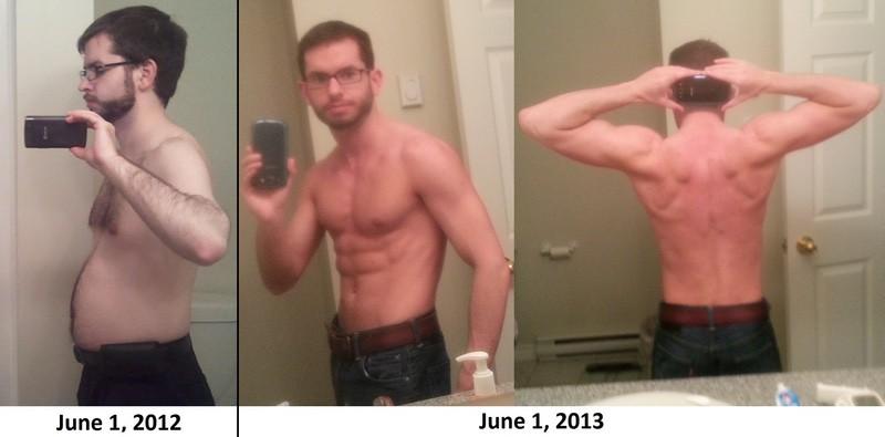 15 lbs Fat Loss 5 foot 4 Male 137 lbs to 122 lbs