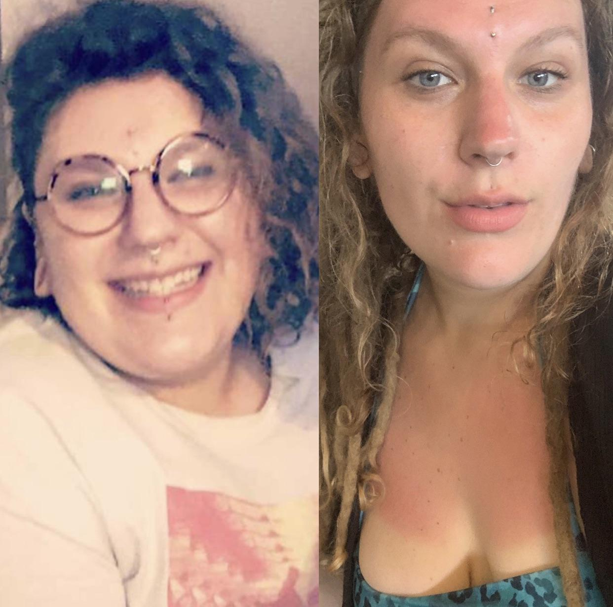 68 lbs Fat Loss 5 feet 10 Female 306 lbs to 238 lbs