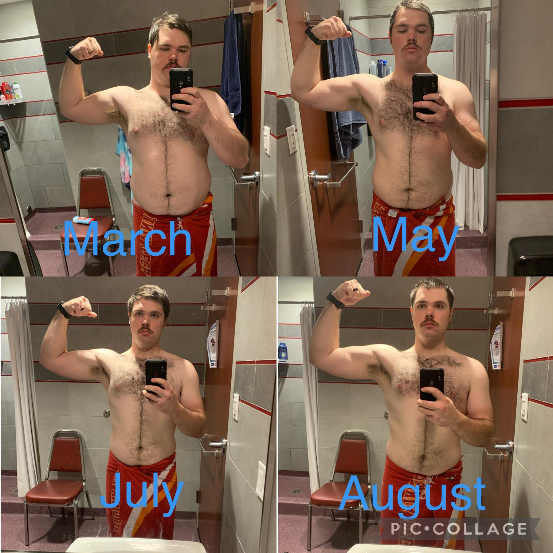 6 foot Male 55 lbs Fat Loss 275 lbs to 220 lbs