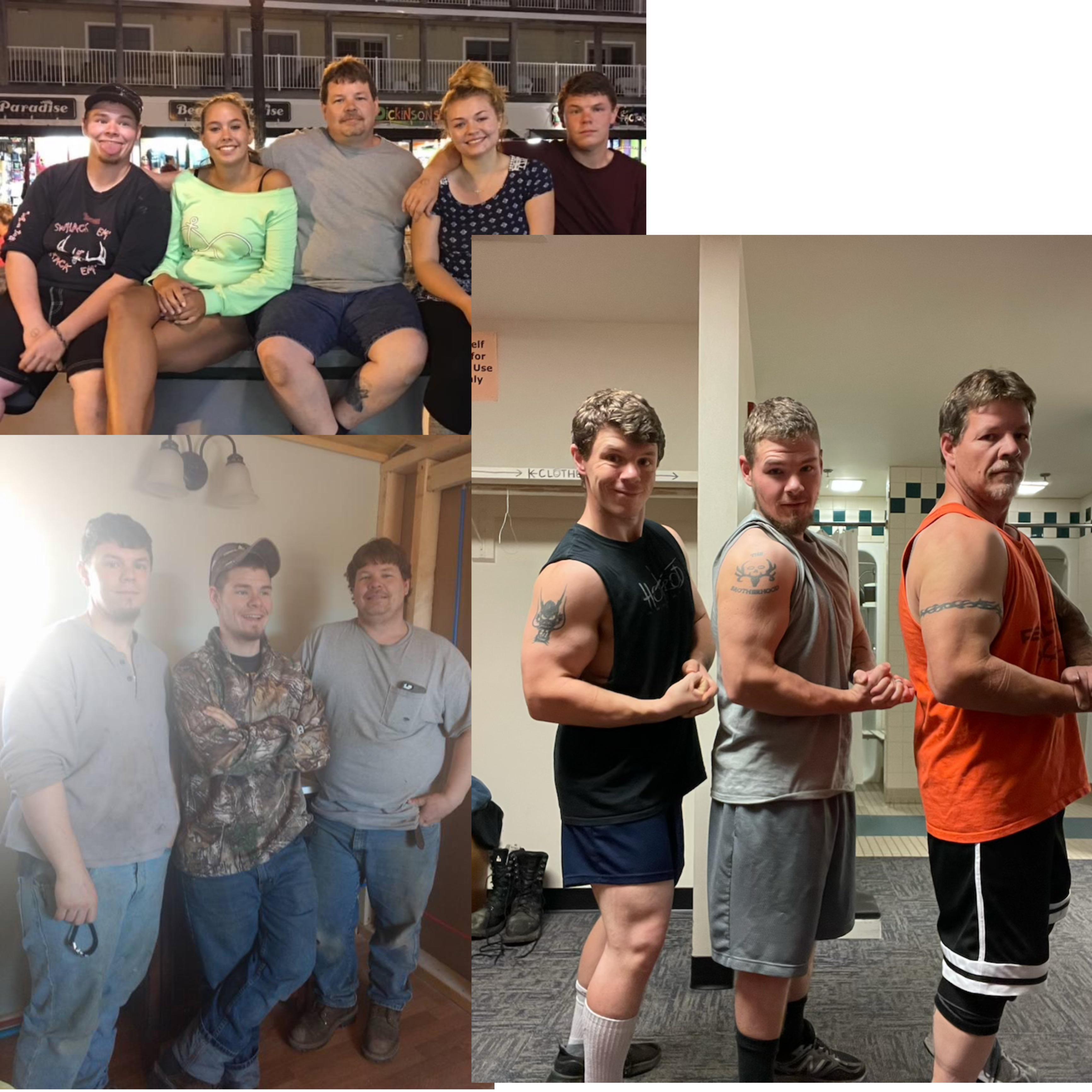 135 lbs Weight Loss 5'5 Male 300 lbs to 165 lbs