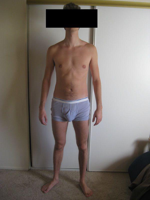 4 Pics of a 160 lbs 6'3 Male Fitness Inspo