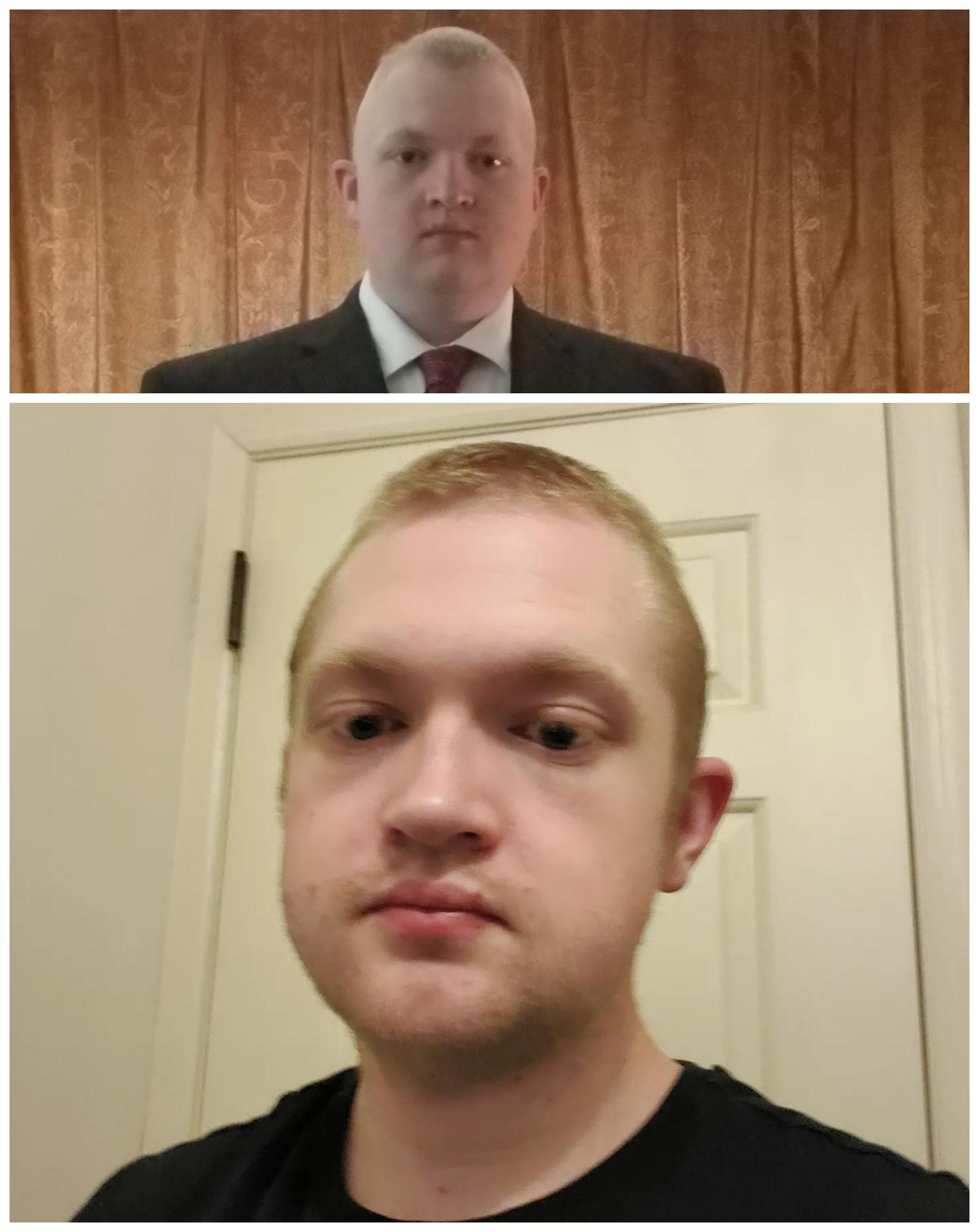 5'8 Male 81 lbs Weight Loss Before and After 270 lbs to 189 lbs