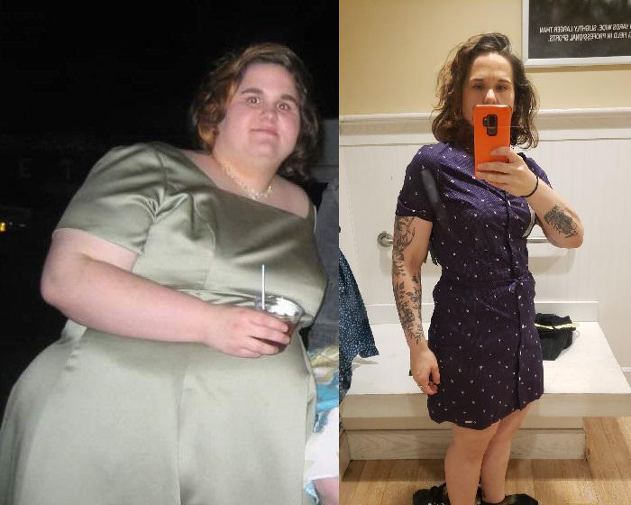 5 foot 5 Female Progress Pics of 242 lbs Weight Loss 400 lbs to 158 lbs