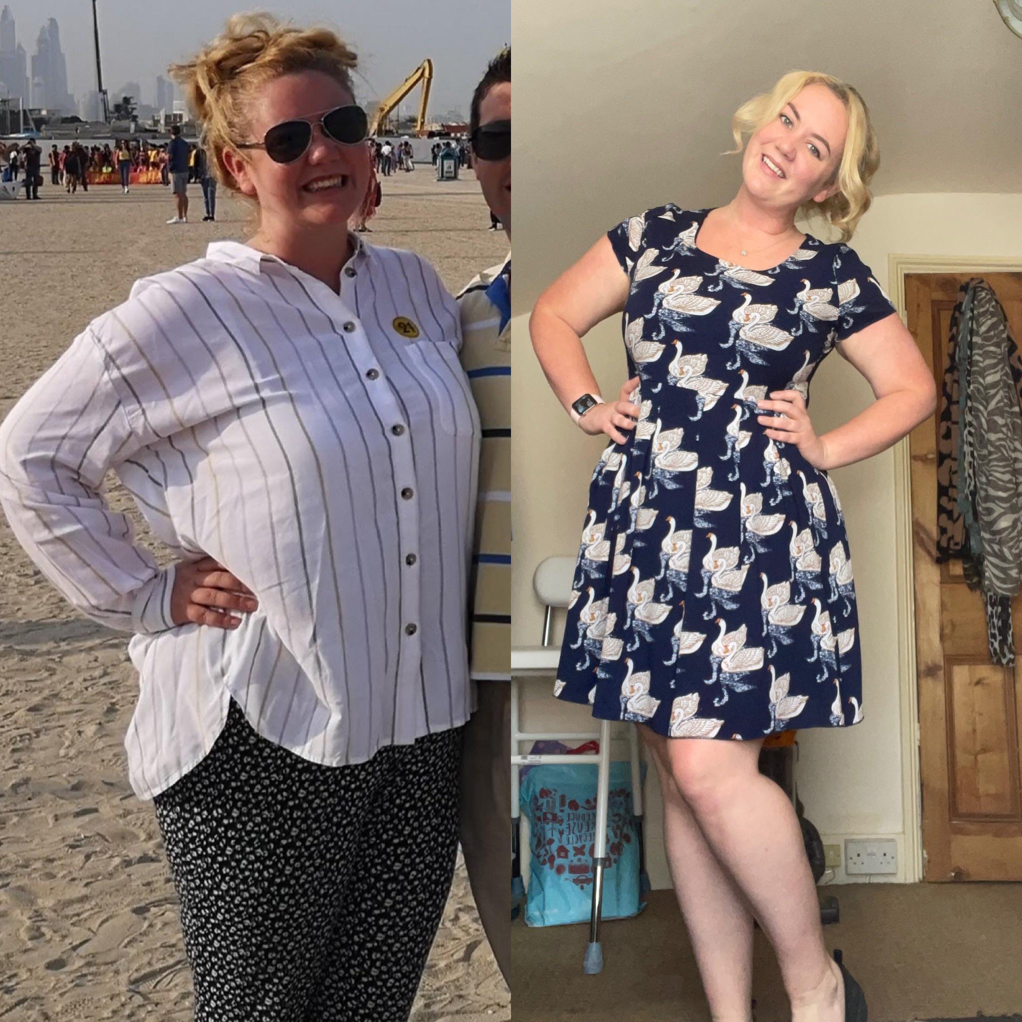 42 lbs Weight Loss 5 feet 6 Female 222 lbs to 180 lbs