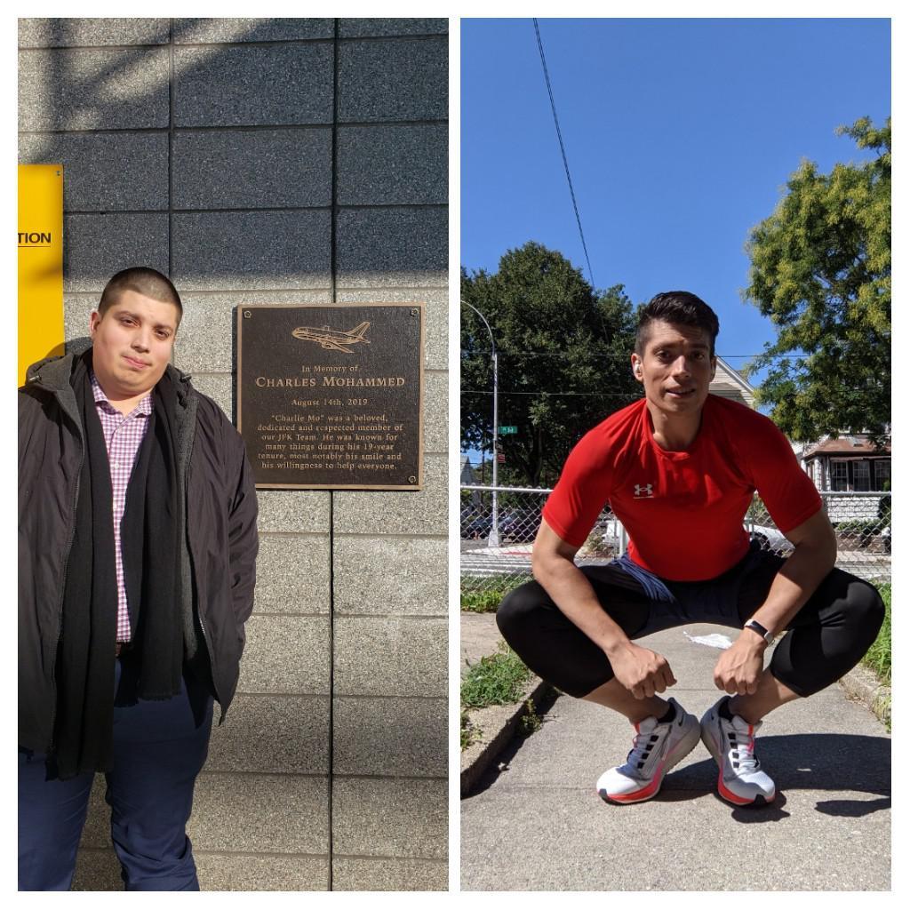 6 feet 2 Male Progress Pics of 110 lbs Fat Loss 295 lbs to 185 lbs