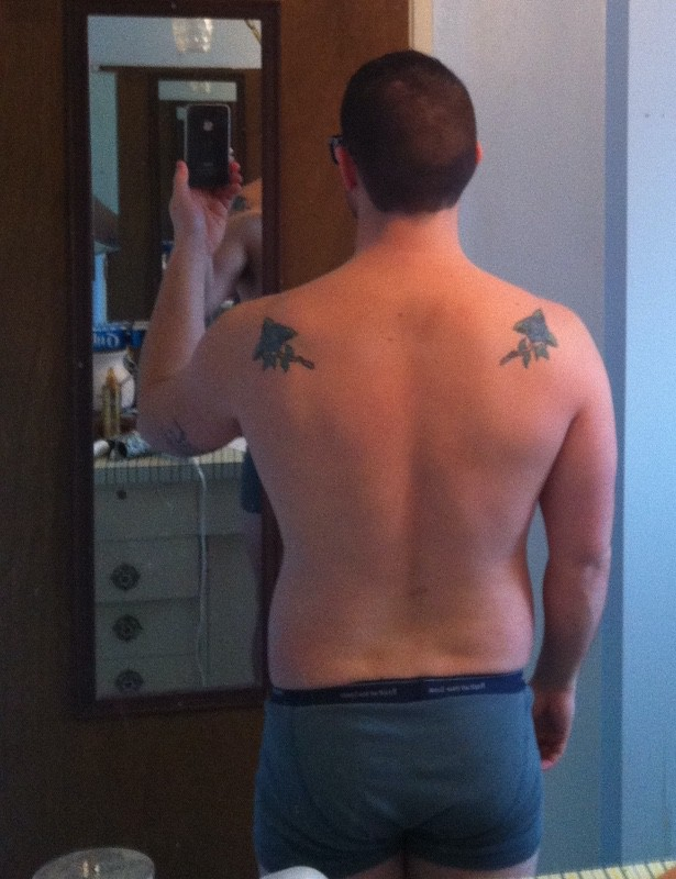 5 Pictures of a 5 foot 9 178 lbs Male Weight Snapshot