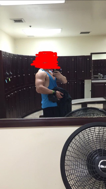 Before and After 66 lbs Muscle Gain 5'8 Male 125 lbs to 191 lbs