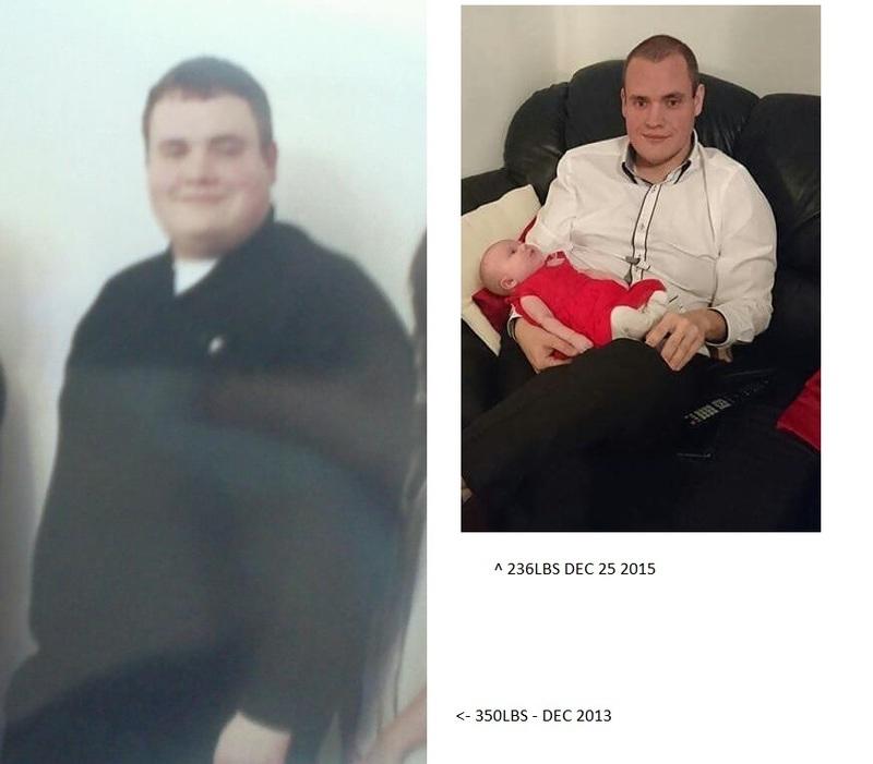 6 foot 1 Male Progress Pics of 114 lbs Fat Loss 350 lbs to 236 lbs