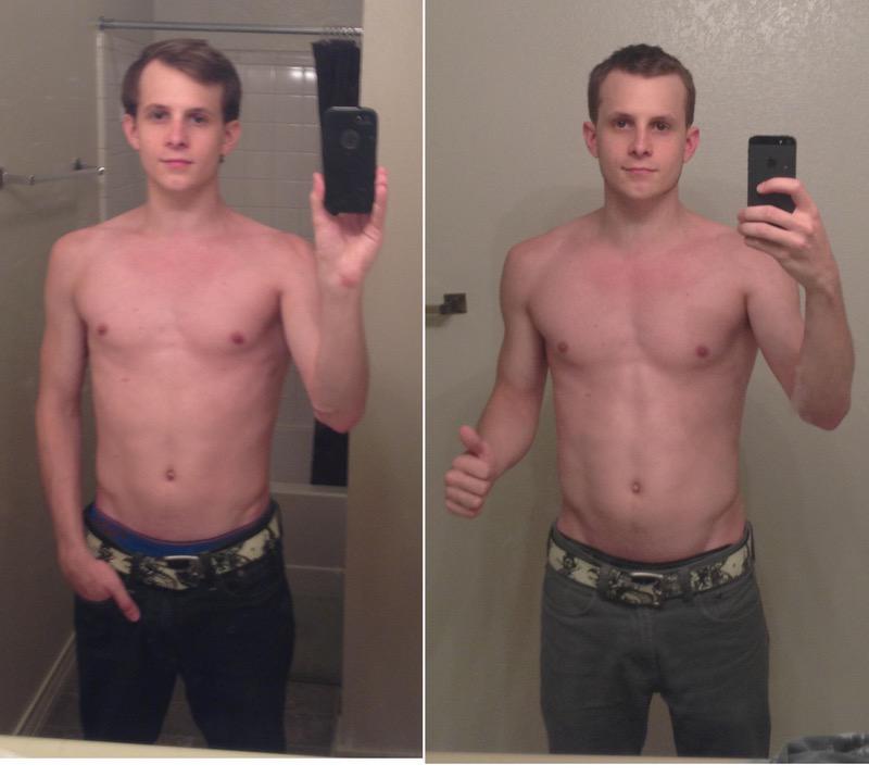 5 foot 8 Male 15 lbs Muscle Gain 125 lbs to 140 lbs