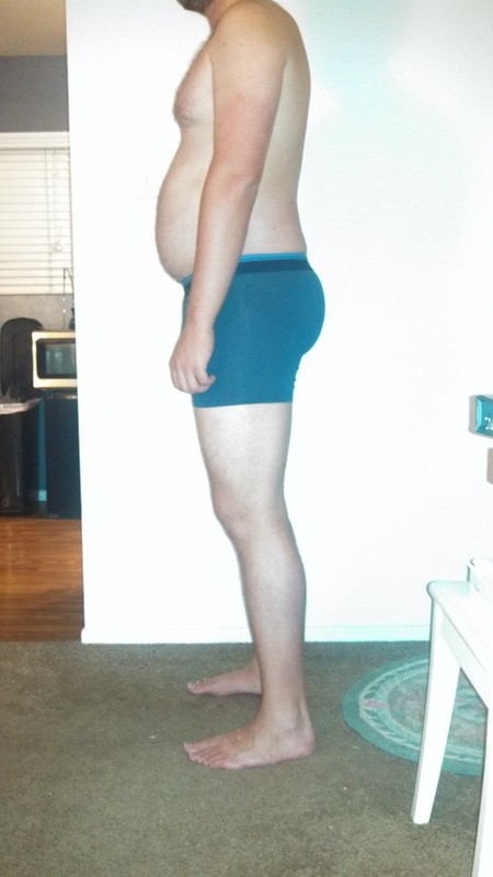 4 Pictures of a 6 foot 2 220 lbs Male Weight Snapshot