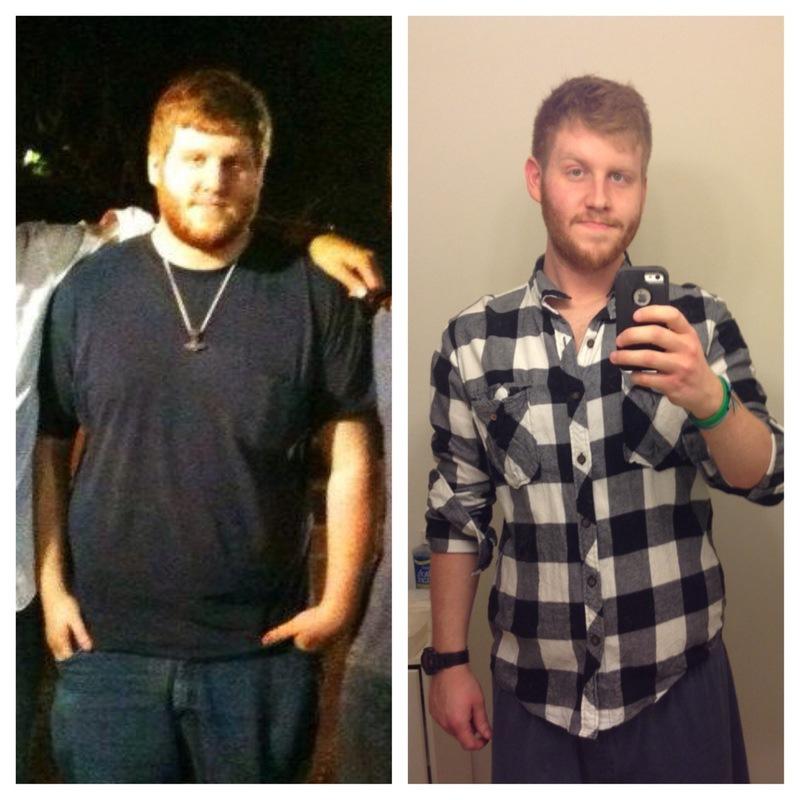 6 feet 3 Male 64 lbs Fat Loss 307 lbs to 243 lbs