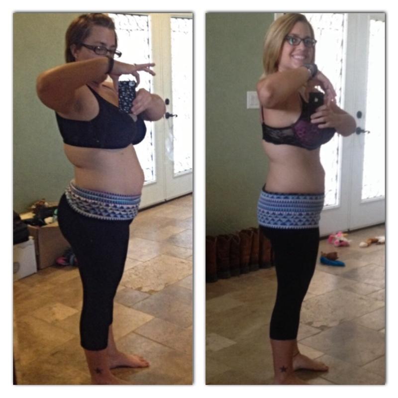 Progress Pics of 35 lbs Weight Loss 5'1 Female 180 lbs to 145 lbs