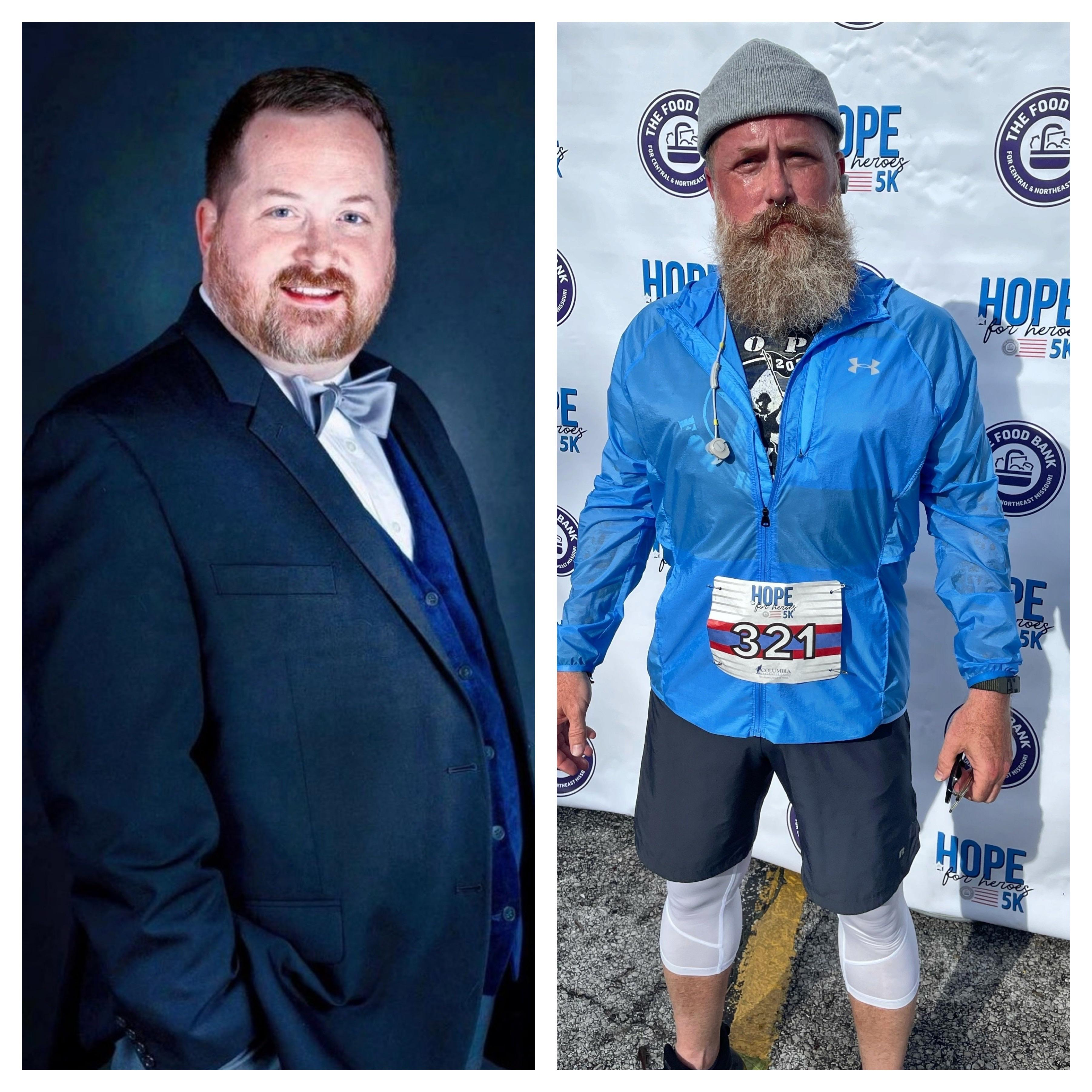 75 lbs Weight Loss 5 feet 8 Male 270 lbs to 195 lbs