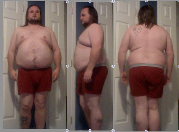2 Pictures of a 5 feet 8 255 lbs Male Fitness Inspo