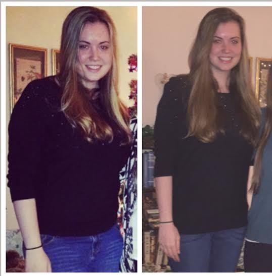5'11 Female 40 lbs Weight Loss 195 lbs to 155 lbs