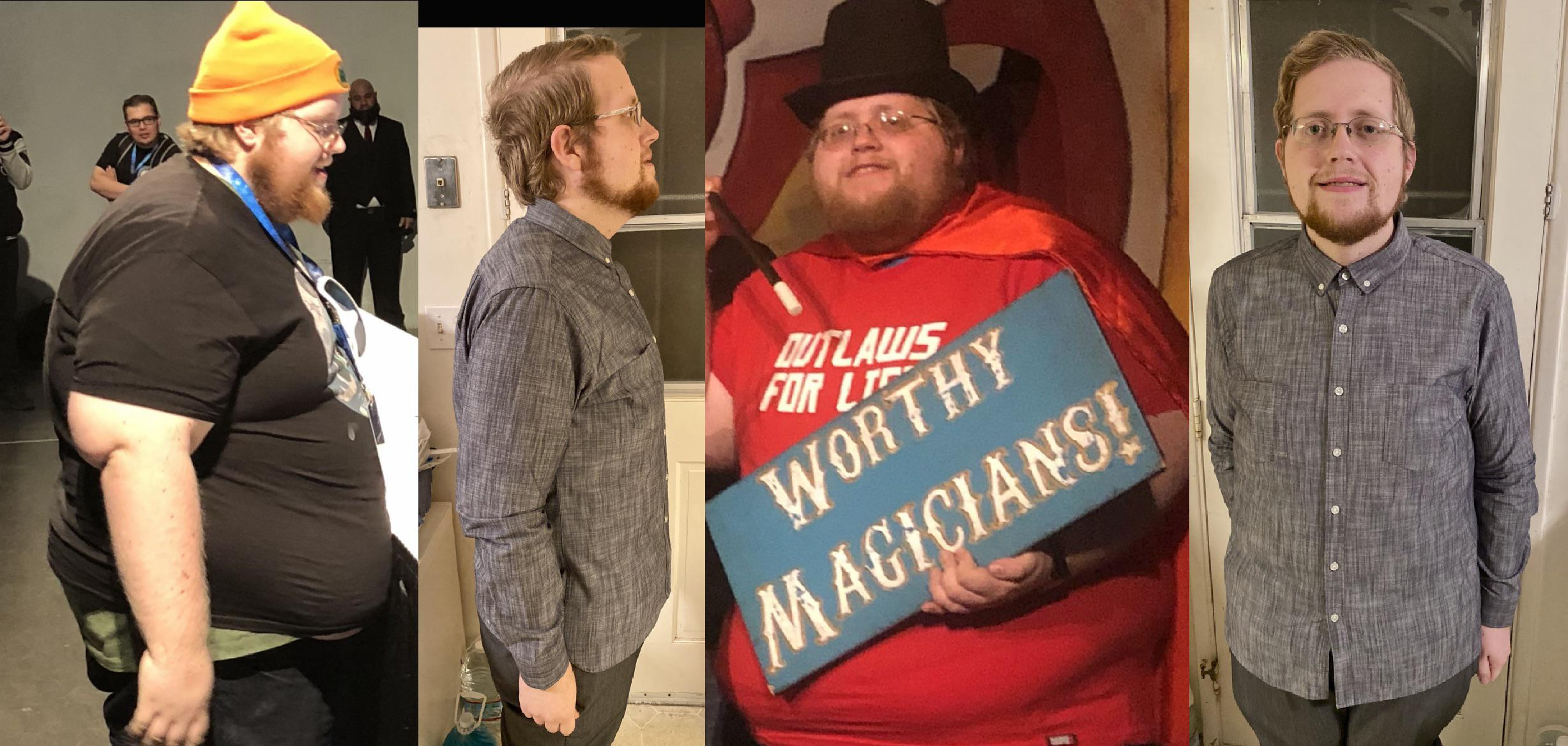 5'10 Male Before and After 230 lbs Fat Loss 468 lbs to 238 lbs