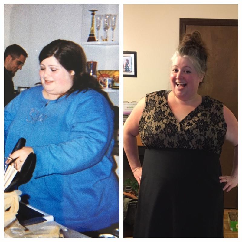 5 foot 5 Female Progress Pics of 125 lbs Fat Loss 390 lbs to 265 lbs