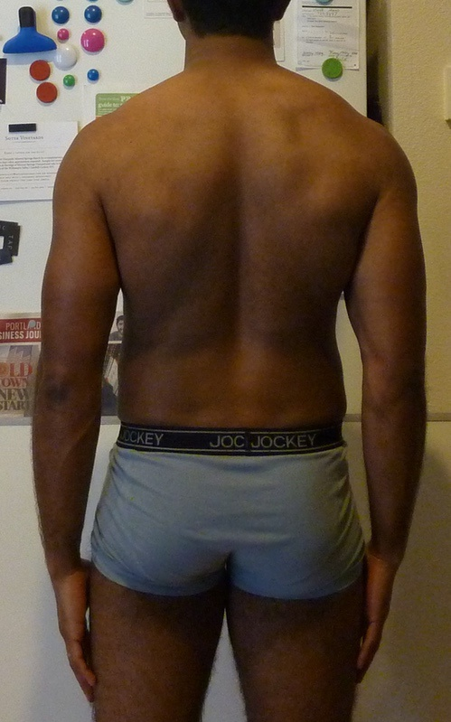 3 Pics of a 5'7 145 lbs Male Weight Snapshot