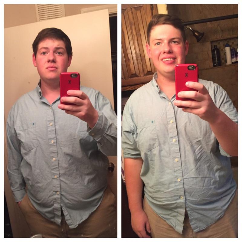 6'2 Male Progress Pics of 55 lbs Weight Loss 365 lbs to 310 lbs