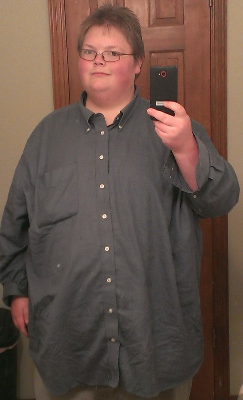 106 lbs Weight Loss Before and After 5'6 Male 444 lbs to 338 lbs